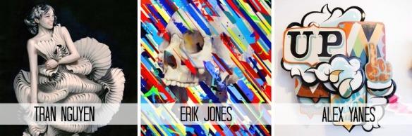 Thinkspace Artists Tran Nguyen Erik Jones Alex Yanes